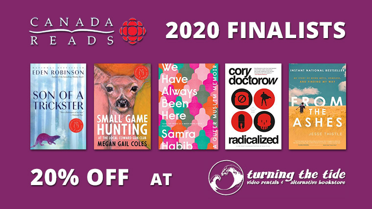 2020 CBC Canada Reads Shortlist